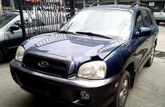 Need to sell high quality blue 2006 Hyundai Santa Fe automatic at price ₦1,034,390