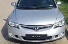 Grey 2008 Honda Civic for sale at price ₦1,850,000