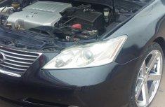 Lexus ES 350 2008 Black color for sale