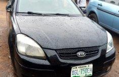 Black 2009 Kia Rio at mileage 85,244 for sale in Lagos