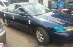 Selling blue 2000 Honda Accord manual at price ₦650,000