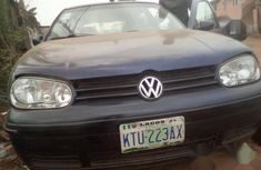 Need to sell cheap used 2002 Volkswagen Golf at mileage 124,633 in Lagos