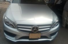 Grey 2015 Mercedes-Benz C400 sedan automatic for sale at price ₦16,500,000