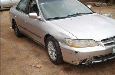 Sell grey 2000 Honda Accord sedan automatic at price ₦550,000