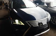 Used blue 2018 Lexus RX automatic for sale in Lagos