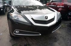 Sell black 2011 Acura ZDX sedan automatic at cheap price