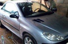 Sell well kept grey 2005 Peugeot 206 sedan at price ₦600,000