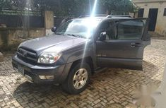 Sell very cheap clean grey/silver 2004 Toyota 4-Runner in Abuja