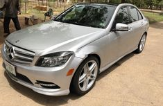 Sell super clean grey 2010 Mercedes-Benz C350 automatic