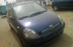 Blue 2004 Toyota Yaris car manual at attractive price in Lagos