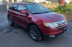 Clean red 2008 Ford Edge automatic car at attractive price