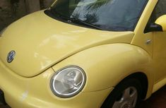 Yellow 2004 Volkswagen Beetle for sale at price ₦950,000