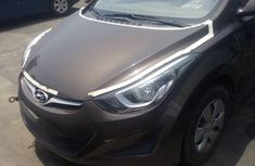 Sell brown 2015 Hyundai Elantra manual at price ₦6,000,000