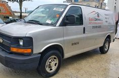 Need to sell high quality grey 2007 Chevrolet Express automatic at price ₦2,700,000