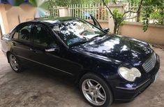 Mercedes-Benz C240 2003 Blue  color for sale