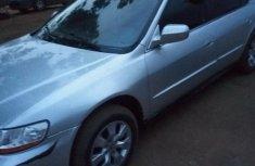 Sell grey 2001 Honda Accord automatic at price ₦600,000
