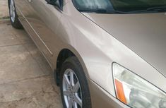 Honda Accord 2004 Automatic Gold color for sale