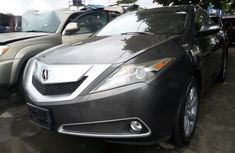 Need to sell used grey 2012 Acura ZDX automatic at cheap price