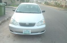 Grey 2005 Toyota Corolla for sale at price ₦1,700,000