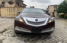 Brown 2010 Acura ZDX sedan automatic for sale in Ikeja