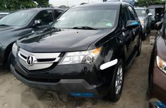 Sell black 2008 Acura MDX automatic at price ₦3,500,000