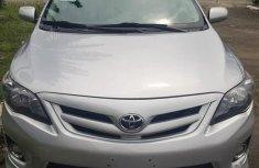 Toyota Corolla 2012 Silver color for sale