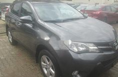 Well maintained grey 2014 Toyota RAV4 suv for sale in Lagos