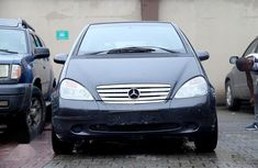Used black 2002 Mercedes-Benz A-Class for sale at price ₦1,680,000 in Ikeja