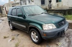 Well maintained green 2002 Honda CR-V at mileage 1,000 for sale