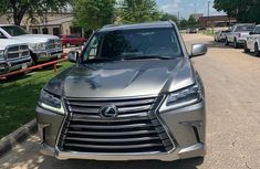 Sell grey 2017 Lexus LX at mileage 25,000 in Lagos at cheap price