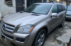 Gold 2007 Mercedes-Benz GL-Class at mileage 140,000 for sale in Lagos