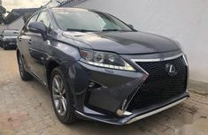 Selling 2013 Lexus RX suv automatic in Ikeja