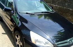Black 2007 Honda Accord for sale at price ₦1,200,000
