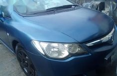 Sell cheap blue 2007 Honda Civic sedan manual at mileage 201,321