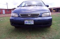 Used blue 2002 Honda Shuttle automatic car at attractive price