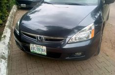 Blue 2007 Honda Accord for sale at price ₦1,700,000
