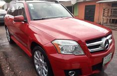 Sell cheap red 2010 Mercedes-Benz GLK-Class automatic at mileage 75,566