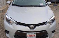 Toyota Corolla 2016 Silver color for sale
