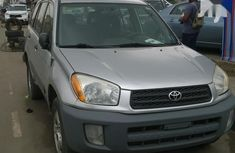 Toyota RAV4 2001 Gray color for sale