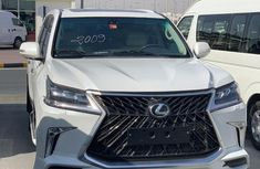 Well maintained white 2010 Lexus LX suv for sale in Lagos