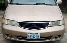 Honda Odyssey 2001 Silver color for sale