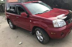 Sharp used red 2005 Nissan X-Trail suv car at attractive price