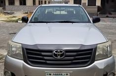 Clean grey/silver 2013 Toyota Hilux car for sale at attractive price