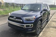 Blue 2017 Toyota 4-Runner at mileage 8,000 for sale in Lagos