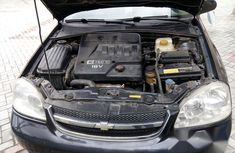 Used black 2006 Chevrolet Optra manual for sale in Port Harcourt