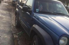Sell well kept blue 2004 Jeep Liberty manual in Lagos
