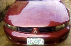 Sell well kept red 2003 Mitsubishi Galant automatic at mileage 95,236