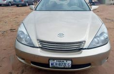 Need to sell high quality gold 2008 Lexus ES sedan automatic in Awka