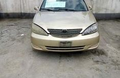 Neat Nigerian used Toyota Camry 2002