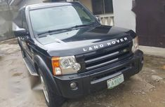 Sell used black 2006 Land Rover LR3 suv automatic in Ikeja